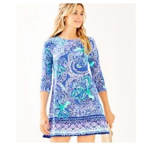 Lilly Pulitzer Ophelia Dress in Coastal Blue BNWT
